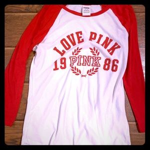Victoria's Secret raglan shirt